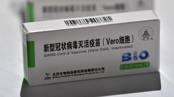 La vacuna de Sinopharm ha mostrado ser eficaz hasta un 79% para prevenir casos graves de la COVID-19.