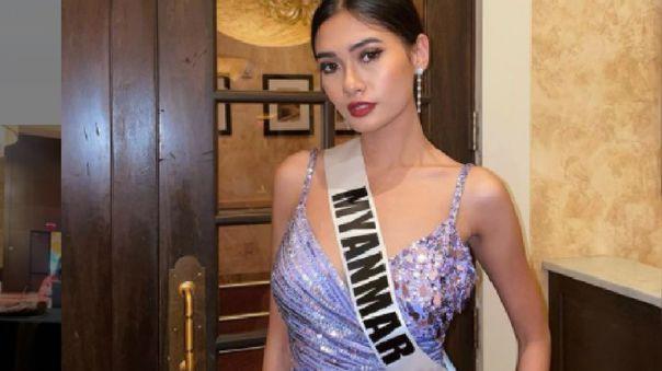 Miss Birmania teme ir a la cárcel por denunciar el golpe de Estado de su país en el Miss Universo 2021