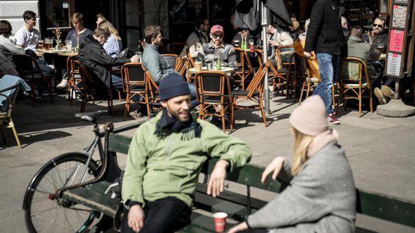 Dinamarca introdujo el uso obligatorio de la mascarilla en agosto pasado, aunque solo en el transporte y en interiores.