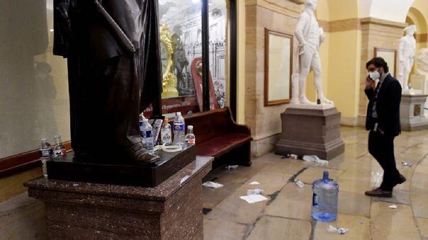 El asalto al Capitolio por parte de simpatizantes del expresidente Donald Trump ocurrió el pasado 6 de enero.