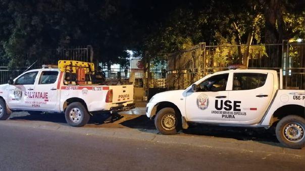 Policía y Fiscalía allanaron oficinas del gobierno regional de Piura.