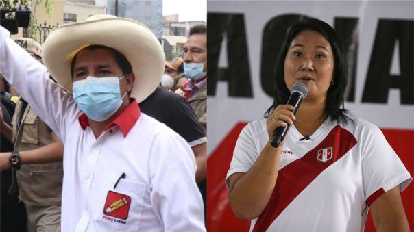 Este último martes, Pedro Castillo y Keiko Fujimori presentaron a su equipo técnico.