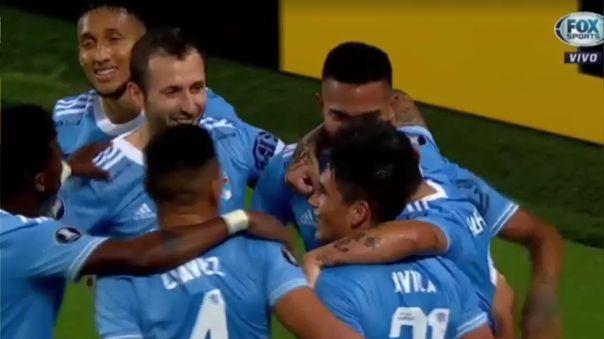 Martín Távara marcó el 2-0 de Sporting Cristal sobre Rentistas