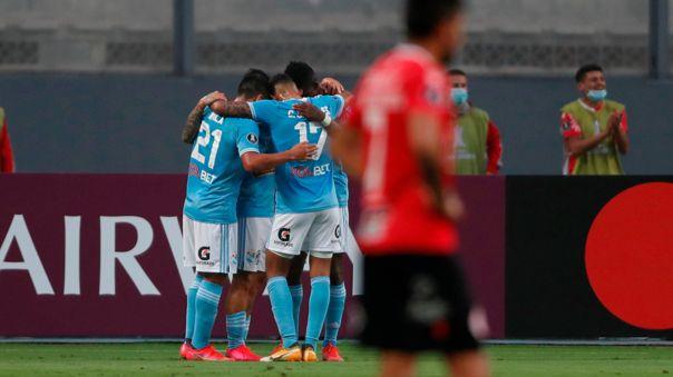 Sporting Cristal venció 2-0 a Rentistas por la fecha 5 de Copa Libertadores