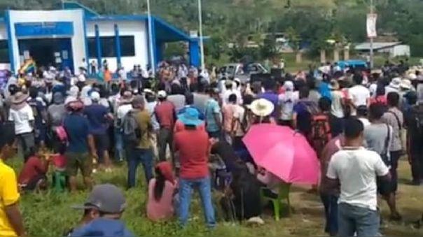 Pobladores de Centro Poblado de Natividad desconfían de la policía tras sucesos violentos.
