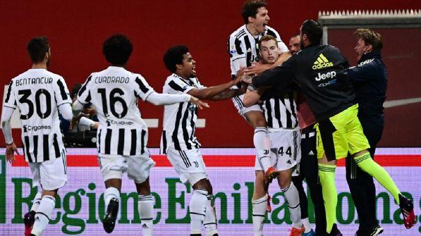 Dejan Kulusevski marcó el 1-0 de Juventus en la final de la Copa Italia