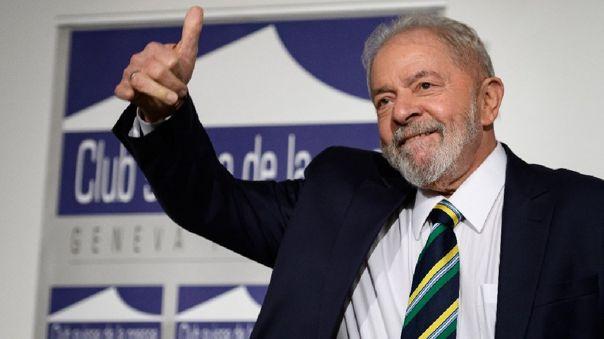 El exmandatario señaló que se presentará a las elecciones de Brasil.