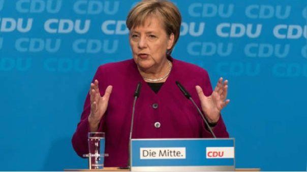 Angela Merkel, canciller de Alemania.