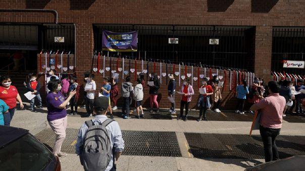 Nueva York es una de las primeras grandes ciudades de Estados Unidos que anuncia el final de la enseñanza remota en sus escuelas públicas.