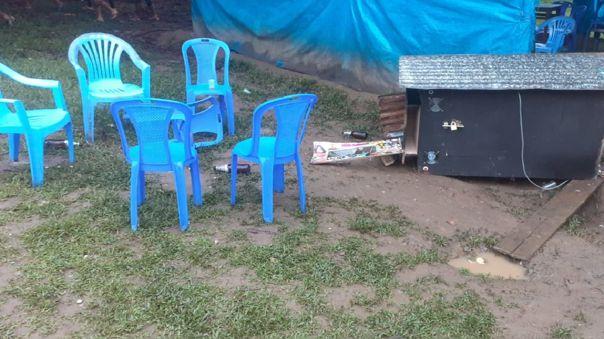 Ataque en la playa del poblado de San Miguel de Ene, capital del distrito de Vizcatán del Ene- Vraem.