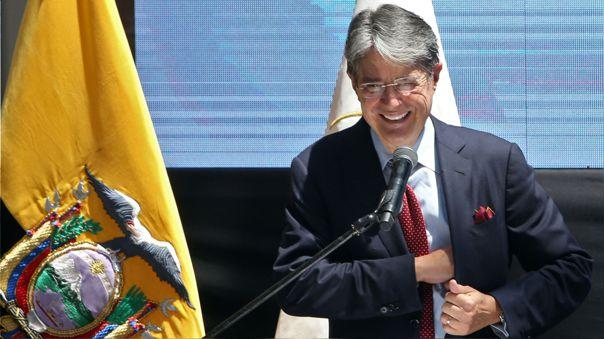 ECUADOR-ELECTION-LASSO-CREDENTIALS