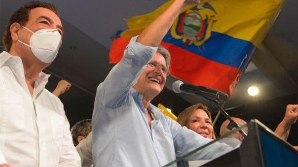 Guillermo Lasso es el nuevo presidente de Ecuador.