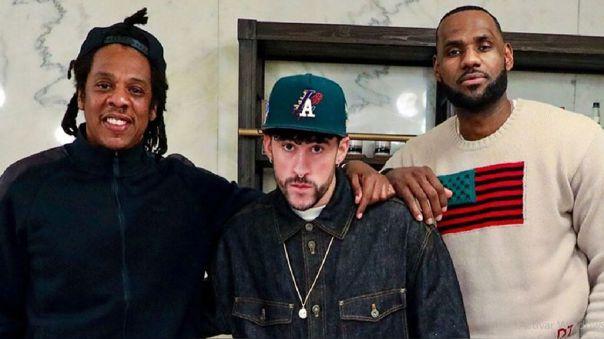 Jay-Z, Bad Bunny y Lebron James