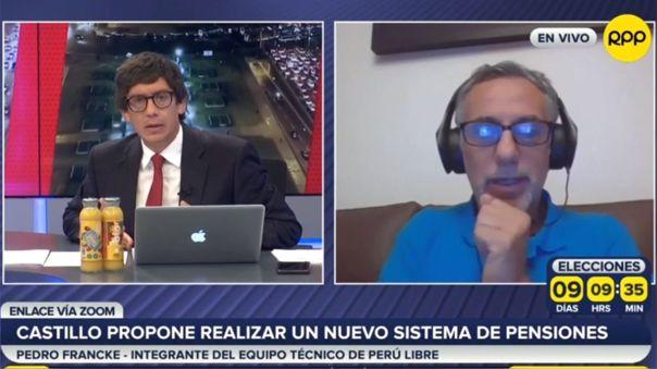 Pedro Francke-Perú Libre