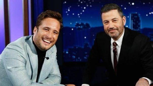 """Diego Boneta a Jimmy Kimmel: """"Luis Miguel era como nuestro Elvis Presley"""""""