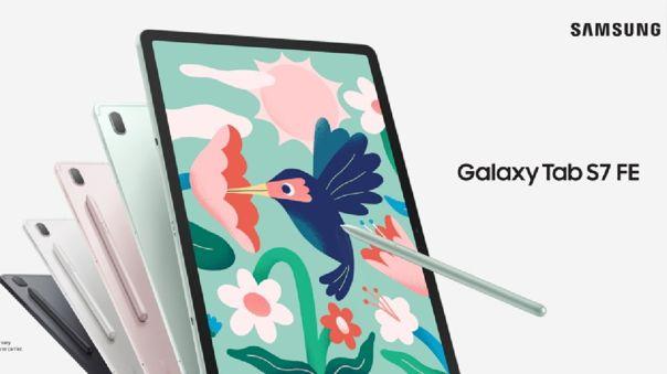 La Galaxy Tab S7 FE.