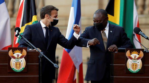 Emmanuel Macron-África-vacunas