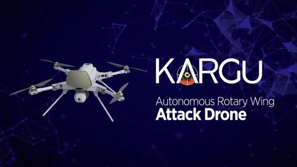 El dron Kargu-2 de STM.