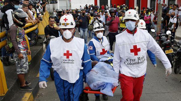 Reportan 13 muertos en ciudad colombiana de Cali