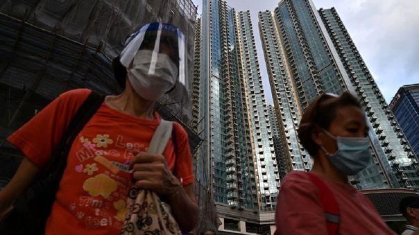 HONG KONG-CORONAVIRUS