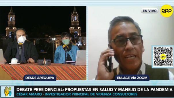 Debate presidencial en Arequipa