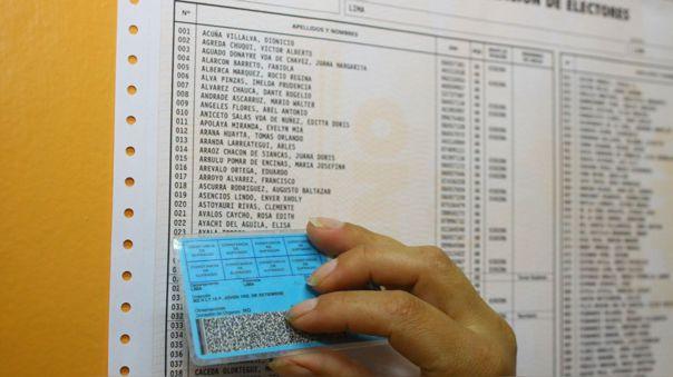 De acuerdo con la norma N° 28360, el padrón se cierra 365 días antes de las elecciones.