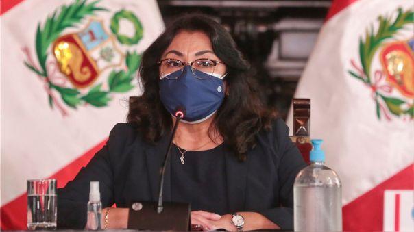 Violeta Bermúdez indicó que no se debería convocar a cierres de campaña presenciales.