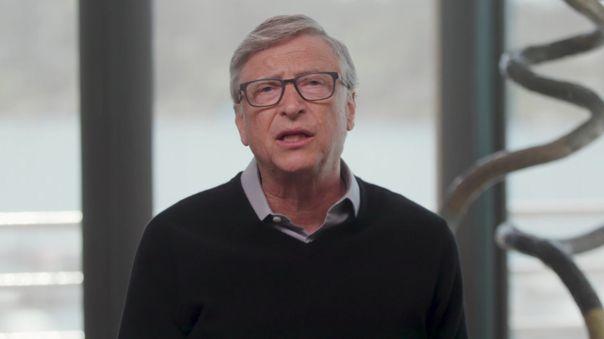 Bill Gates habló sobre el cambio climático que atraviesa el planeta.