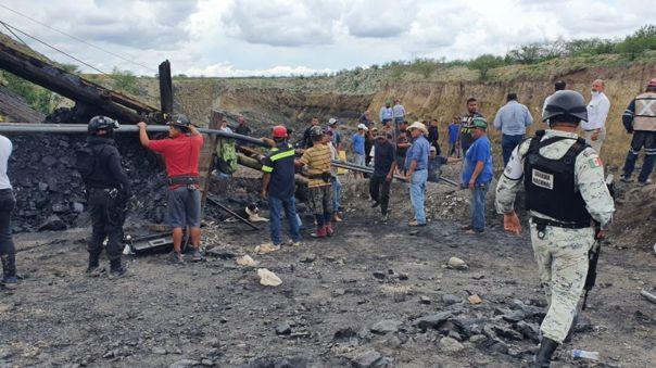 Accidente minero en región carbonífera de Coahuila