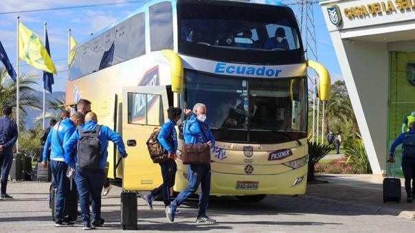 Ecuador retornó a su concentración en Quito y piensa en Perú