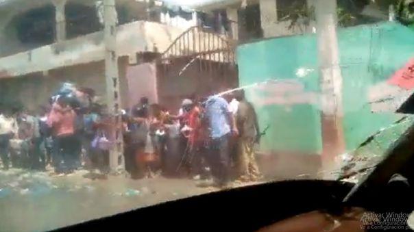 Pandillas en Haiti