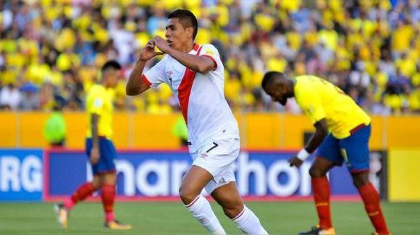 Gol de Paolo Hurtado