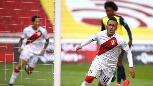 Perú derrotó a Ecuador y consiguió su primera victoria en las Eliminatorias