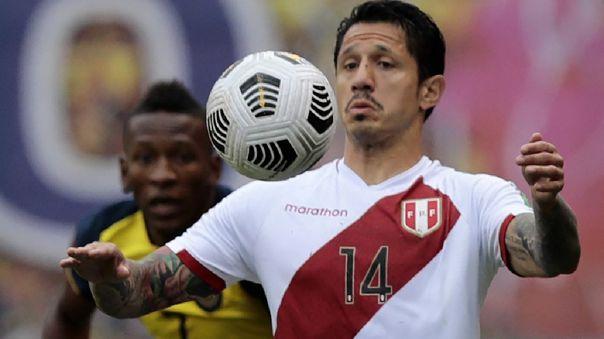 Gianluca Lapadula aún no marca con la Selección Peruana.