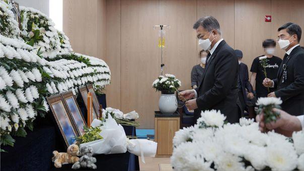 Corea del Sur-Moon Jae-in-abuso sexual