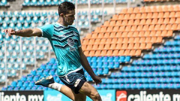 Santiago Ormeño se unió a los entrenamientos de León