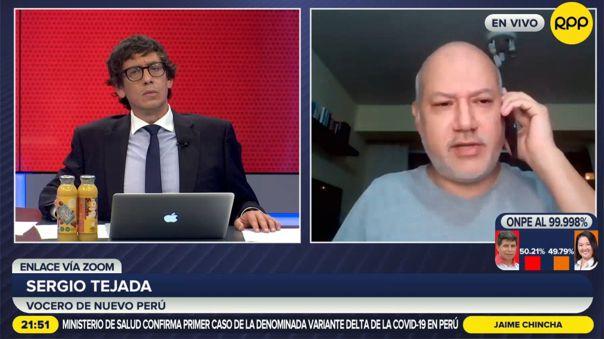 Sergio Tejada-Nuevo Perú-Keiko Fujimori