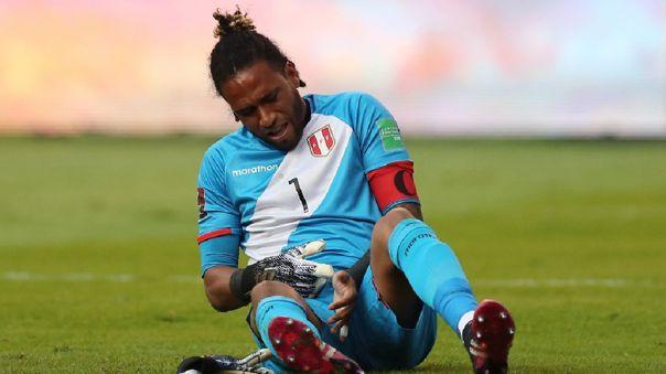 Pero Gallese fue capitán de Perú en triunfo ante Ecuador en Quito