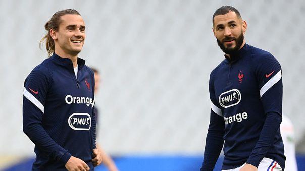 Griezmann y Benzema están convocados en Francia para la Eurocopa 2021.