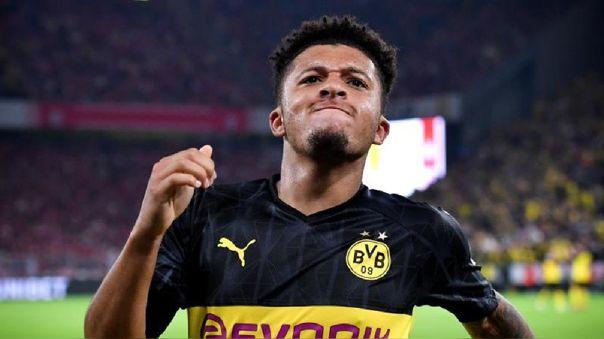 Sancho tiene contrato con Borussia Dortmund hasta 2023.