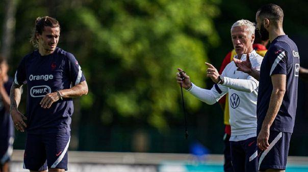 Karim Benzema es duda para el debut de Francia en la Eurocopa 2021
