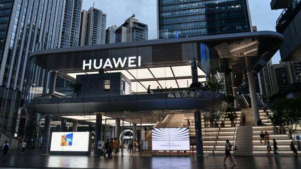 CHINA-TELECOMS-COMPUTERS-SOFTWARE-HUAWEI