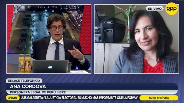 Ana Córdova-Perú Libre-JNE