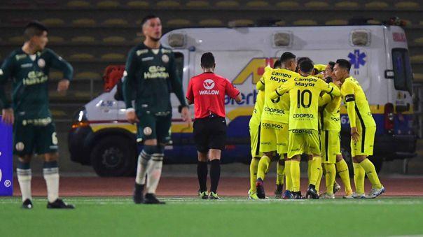 Coopsol mostró las falencias de Universitario en esta Copa Bicentenario.