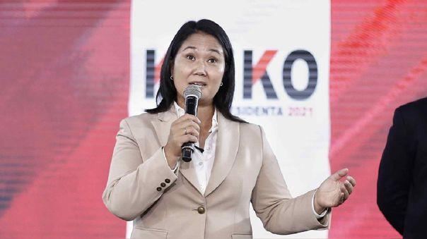Keiko Fujimori acudirá a la marcha convocada por diferentes organizaciones simpatizantes a su partido.