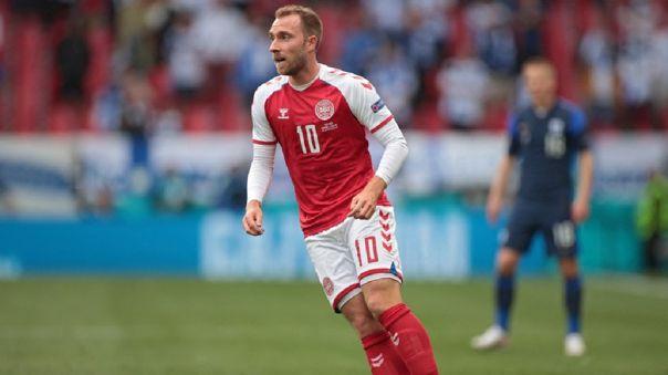 Christian Eriksen se desplomó durante el Dinamarca vs. Finlandia por la Eurocopa