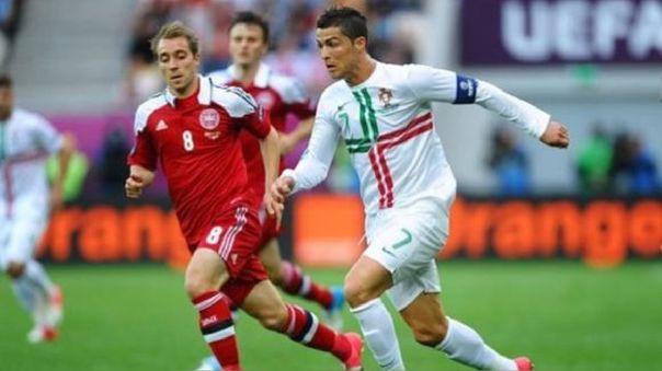 Cristiano Ronaldo y Christian Eriksen han jugado por Champions y selecciones.