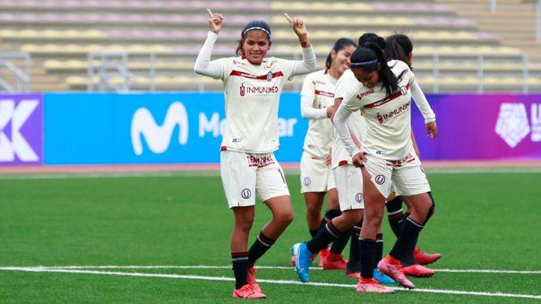 Universitario goleó 8-1 a Cantolao