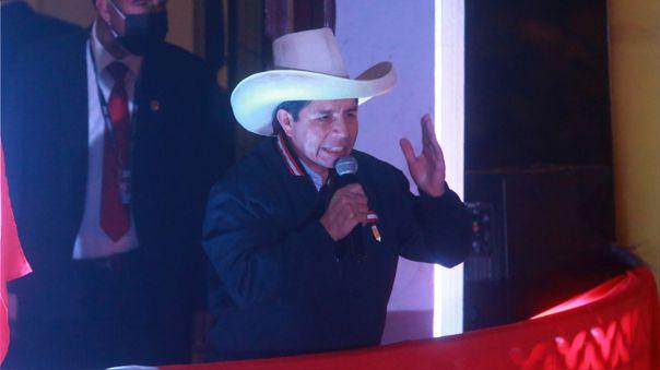 Pedro Castillo indicó que no participará de ninguna movilización ciudadana.