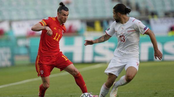 Gales empató 1-1 con Suiza por la fecha 1 del Grupo A de la Eurocopa 2021